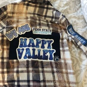 Tops - Penn State Tailgate Flannel